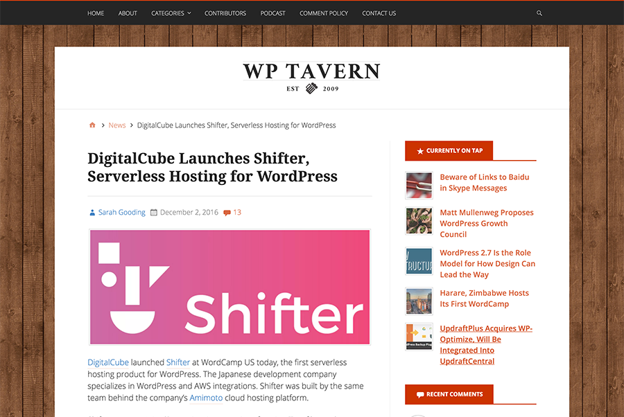 shifter_on_wptavern
